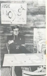 1970 Gert Verhoef, 1e voorzitter