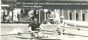 1971 eerste blik voor Orca door Chris van Winden
