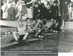1983 Orca wint de Varsity