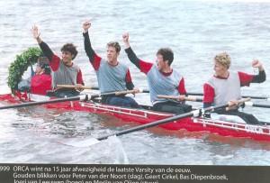 1999 Orca wint de Varsity